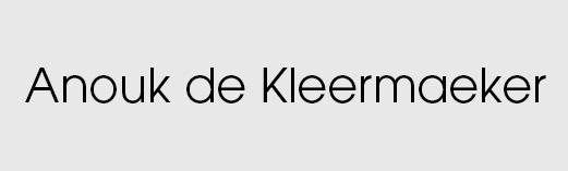 Anouk de Kleermaeker